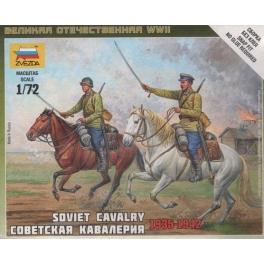 zvezda 6161 Cavalerie russe 39/45