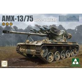 Takom 2038 AMX-13 canon de 75mm et missiles antichars SS-11