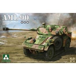 Takom 2077 Véhicule blindé léger sur roues AML-90 avec canon 90mm