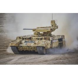 "Trumpeter 09565 Véhicule chenillé russe BMPT ""Ramka"" avec lance-missile anti-chars ""Ataka"""