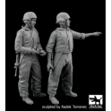 Black dog F35067 Israel army tank crew set