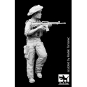 Black dog F35069 Israel army soldier N°2