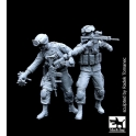Black dog F35077 US soldiers team special group - set A