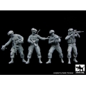 Black dog F35081 US soldiers special group team big set