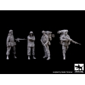 Black dog F35088 British Marines plus Argentine soldier big set