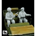 Black dog F35099 British paratroopers set