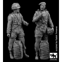 Black dog F35116 British paratroper set