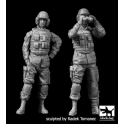 Black dog F35137 US modern tank crew set