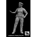 Black dog F35167 N.Y.Policewoman