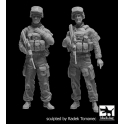 Black dog F35181 Australian modern soldiers set