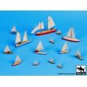 Black dog S70006 Sailing boats