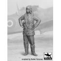Black dog F32029 RAF Fighter pilot 1940-45 N°2