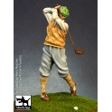 Black dog F75006 75mm Golfer