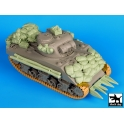 Black dog T35081 Sherman 75mm Normandy accessories set