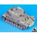 Black dog T35087 Pz Kpfw IV Ausf J accessories set