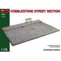 Cobblestone Street Section in 1:35