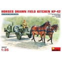 Horse drawn field kitchen