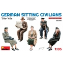 German Sitting Civilians'30s-'40s