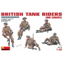 British Tank riders (NW Europe)