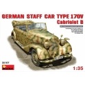 German staff car MB type 170 Cabriolet