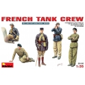 French tank crew