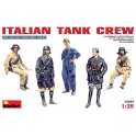 Italian tank crew