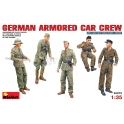 German armoured car crew