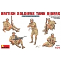 British Soldiers Tank Riders