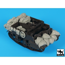 Black dog T35217 Bren carrier accessories set