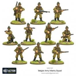 Belgian Army Infantry squad
