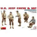 U.S. Jeep Crew & M.P.