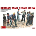 German tank repair crew