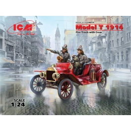ICM: Model T 1914 Fire Truck with Crew