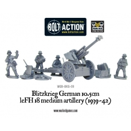 Blitzkrieg GermanleFH 18 10.5cmMedium Artillery (1939-42)