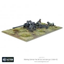 Blitzkrieg GermanPak 38 5cm Anti-Tank Gun (1941-42)