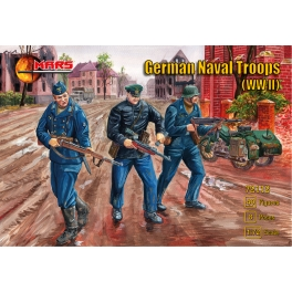 Mars 72112 Troupes navales allemandes 39/45