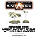Concord Plasma Drone with Plasma Cannon