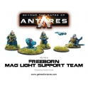 Freeborn Support Team with Mag Light support