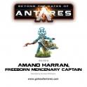 Amano Harran, Freeborn Mercenary Captain