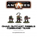 Ghar Outcast Rebel Command Team