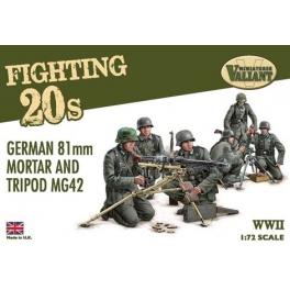 Valiant VMFT002 Armes de soutien allemandes et servants