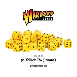 D6 Dice Pack - Yellow (30)