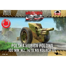 First to Fight 60 Obusier polonais Skoda 100mm