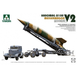 Takom 5001 Fusée V2 sur remorque Meillerwagen et tracteur SS-100