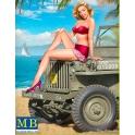 MB24006 Pin-up series, Kit No.6 Samantha