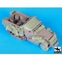 Blackdog T35123 M 4 mortar big accessories set