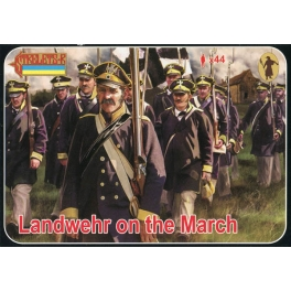 Strelets 168 Landwehr prussienne en marche