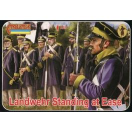 Strelets 169 Landwehr prussienne au repos