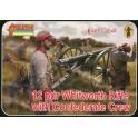 Strelets 183 Canon Whitworth 12 pdr avec servants confédérés