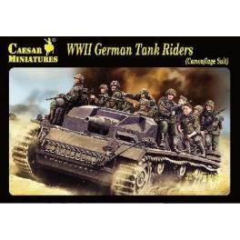 Caesar H099 Panzergrenadiers portés sur blindé (tenue camouflée)